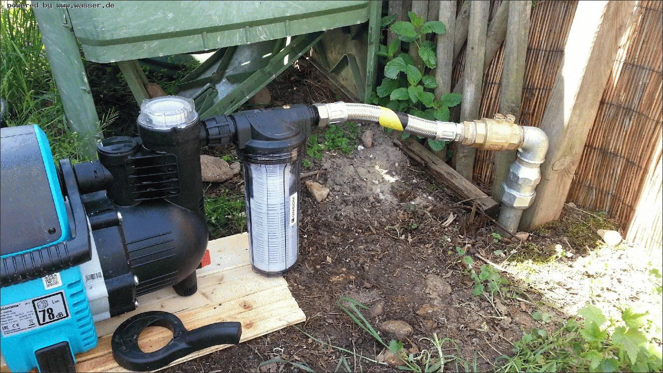 umbau von schwengelpumpe auf e-pumpe / wasserforum - das forum des